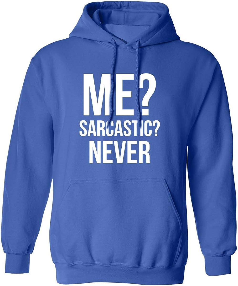 信用 爆買いセール zerogravitee ME? Sarcastic? Never Hooded Adult Sweatshirt