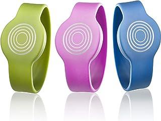 Somfy 2401403, Pulsera RFID para niños, Cerradura inteligente, Set 3 pulseras identificativas de colores, cómodas y fiables