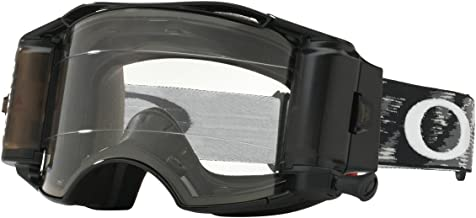 Oakley Airbrake MX Goggles with Race Ready Roll-Off System (Jet Black Speed Frame/Clear Lens)