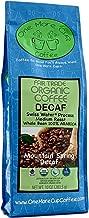 One More Cup - Organic Fair Trade Mountain Spring Blend Swiss Water Processed Decaffeinated Medium Roast Whole Bean Arabica Coffee,10 oz