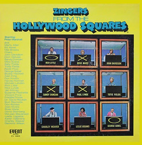 Zingers from the Hollywood Squares by OHS Records
