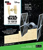 IncrediBuilds: Star Wars: Tie Fighter 3D Wood Model