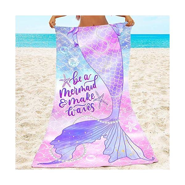 Bonsai Tree Mermaid Beach Towel