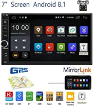 OiLiehu Android 8.1 Car Stereo Radio Receiver, Double Din 7'' HD Touch Screen..