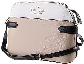 Kate Spade Staci Colorblock Dome Saffiano Borsa a Tracolla in Pelle Saffiano BORSA BORSA BEIGE CALDO MULTI