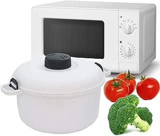 MovilCom® - Olla Vapor microondas | Cocina al Vapor | fácil, rápido y Saludable