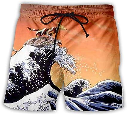 Amazon.com: Mens Swim Trunk 3D Print Sea Spray Print Board Shorts Summer  Loose Drawstring Casual Quick Dry Shorts Beach Pants Swim Trunks Surf Wear  for Party Beach: Sports & Outdoors