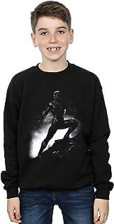 Marvel Niños Black Panther Standing Pose Camisa De Entrenamiento