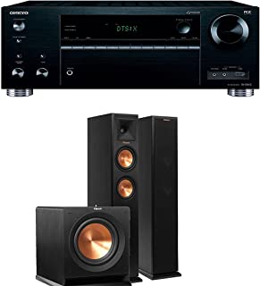 Onkyo TX-RZ710 7.2-Channel Network A/V Receiver + Klipsch RP-250F + Klipsch R-110SW - 2.1 Reference Premiere Home Theater Package