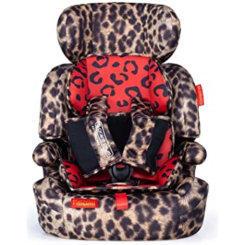 Cosatto Zoomi Car Seat | Group 1 2 3, 9-36 kg, 9 Months-12 years, Side Impact Protection, Forward Facing (Hear Us Roar)