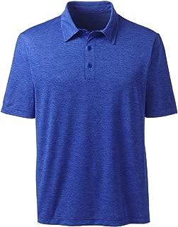 Lands' End Men's Short Sleeve Space Dye Polo Shirt