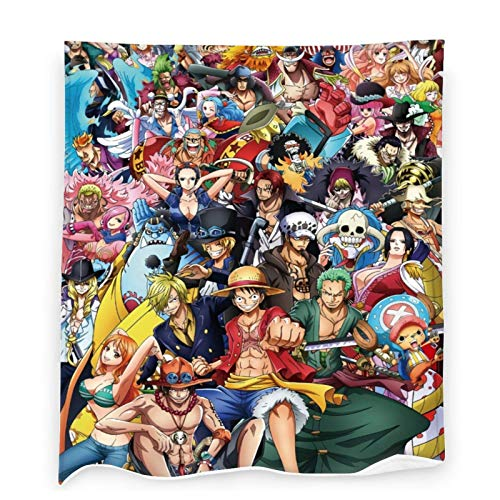 One-Piece Throw Blanket, Japanese Anime Luffy Flannel Blankets for Bedding Sofa Living Room Throws Home Decoration All Season 40x50 inch