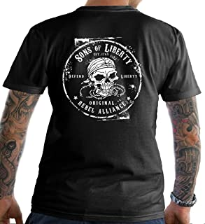 Sons Of Liberty Original Rebel Alliance : T-Shirt. Made in USA