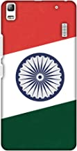 AMZER Slim Handcrafted Designer Printed Hard Shell Case for Lenovo K3 Note, A7000 Turbo - One India