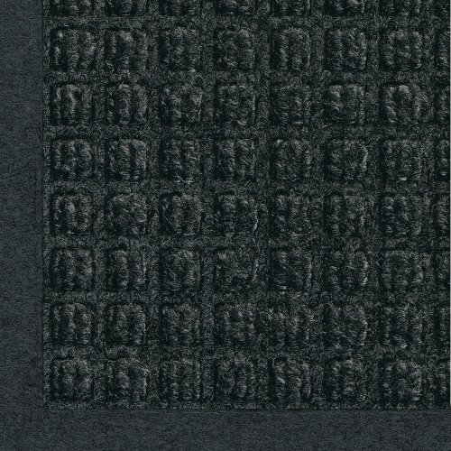 M+A Matting - 280540023 WaterHog Fashion Commercial-Grade Entrance Mat, Indoor/Outdoor Charcoal Floor Mat 3' Length x 2' Width, Charcoal by