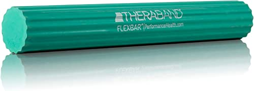 TheraBand FlexBar, Tennis Elbow Therapy Bar, Relieve Tendonitis Pain & Improve Grip Strength, Resistance Bar for Golf...