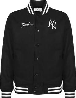 pretty nice 8c698 739c9 A NEW ERA ERA Era York Yankees Team Apparel Bomber Jacket NavyBomberjacke  MLB