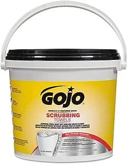 GOJO 6398-02 GOJO SCRUBBING WIPES 170COUNT BUCKET
