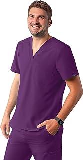 Adar Uniforms Men's A6006EGP Medical Scrubs Shirt