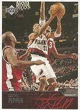 Scottie Pippen 2003-04 Upper Deck Portland Trailblazers Card #30