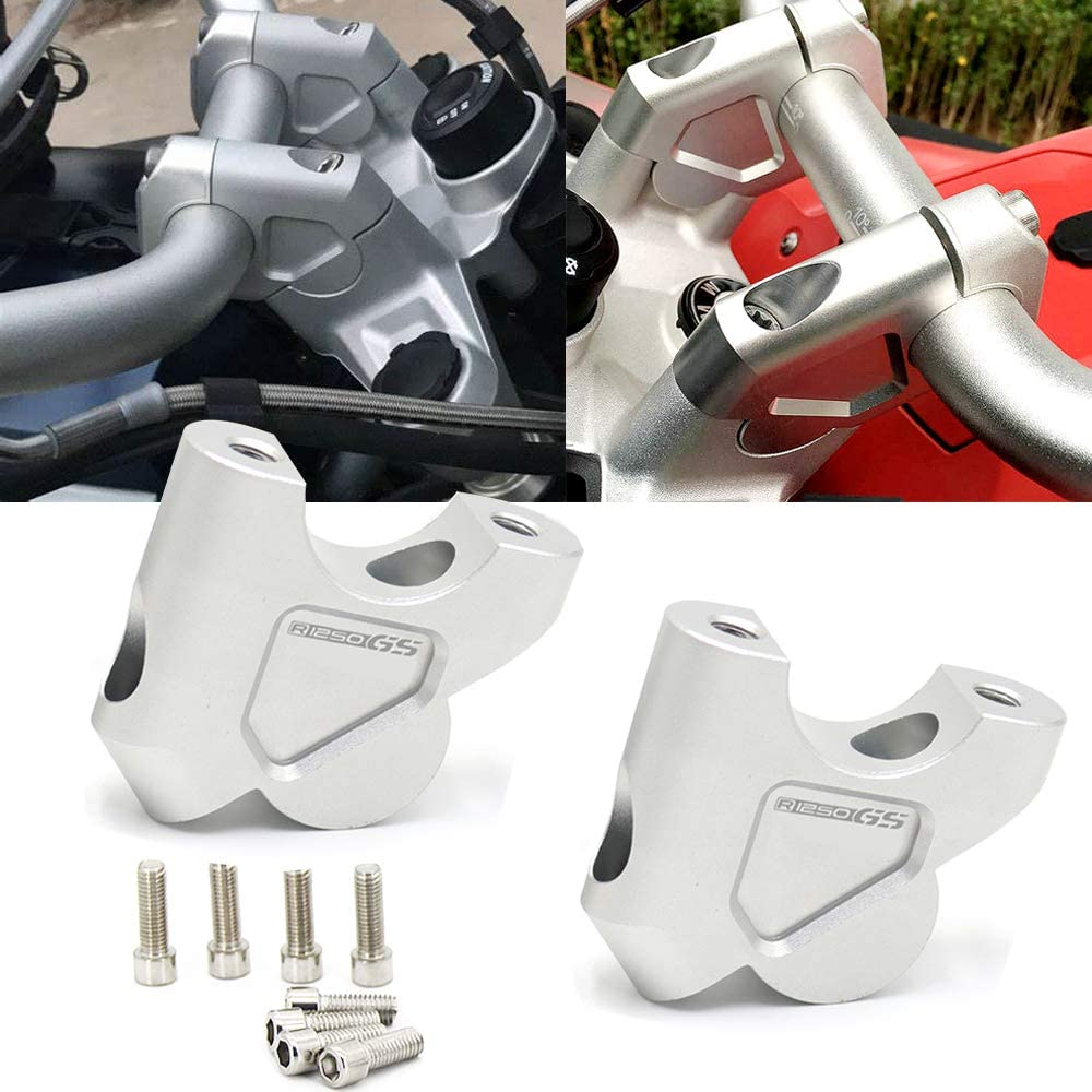 Handlebar Mount Risers Ranking TOP4 Clamp for LC BMW Super Special SALE held R1200GS Adventur R1250GS