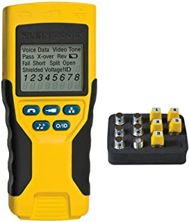 Klein Tools VDV501-823 VDV Scout PRO 2 Tester - Cable Tester, Traces and Tests Coax, Data and Telephone Cable with Remotes