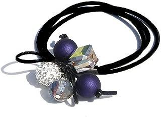 1PC Lovely Clover Gray Ball Elastic Hair Bands For Women Toys For Kids Handmade Bow Headband Scruhie Girls Hair Accessories