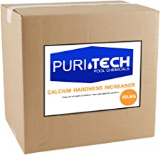 Puri Tech Pool Chemicals 25 lb Calcium Hardness Increaser Plus for Swimming Pools & Spas Increases Calcium Hardness Levels Prevents Staining on Surfaces