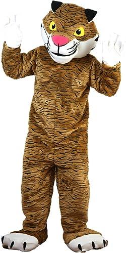 Langteng Tigre Dessin animé Costume véritable Tableau 15–20days Livraison Marque