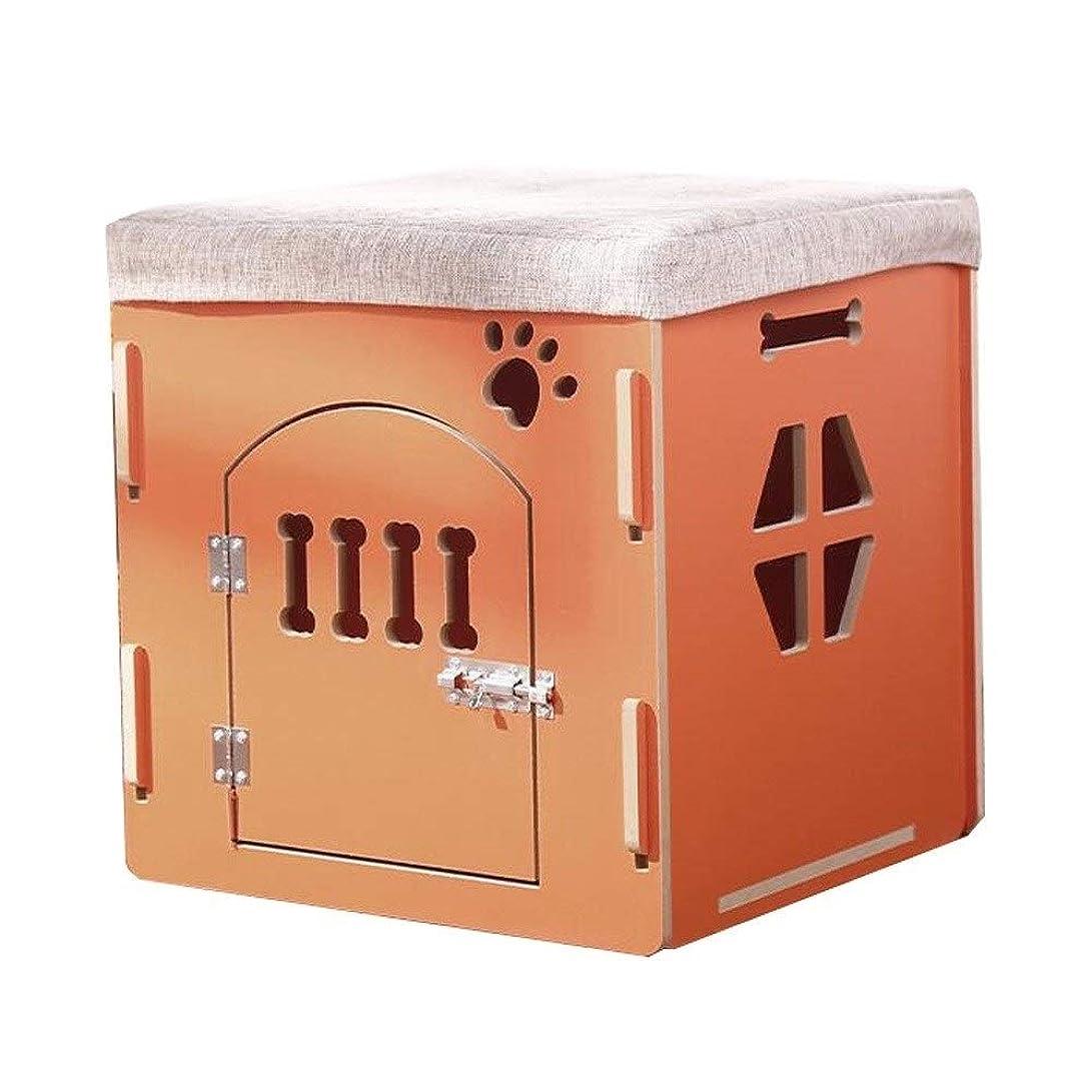 製品すすり泣き遺産LLNN ウッドペットハウス?ラビットキャットハウスペットベッド、すべての猫小型犬木製ペットハウスのために非常に適し (Color : A)