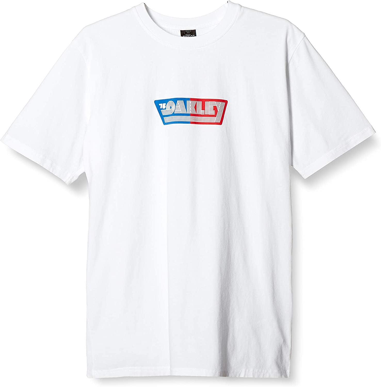 Oakley Men's Retro Tee Max 59% OFF Lines 75 Direct sale of manufacturer