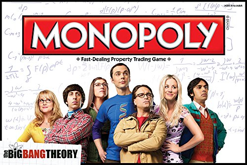 Toy Zany Monopoly : The Big Bang Theory - Version Espagnole