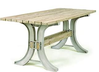 2x4 basics 90152 Patio Table, Flip Top Bench, Sand