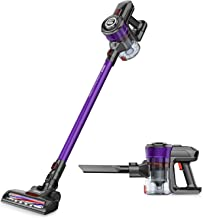 ONSON Cordless Vacuum Cleaner 20KPa Powerful Suction 250W Motor 2 in 1 Stick Handheld Vacuum for Home Hard Floor Carpet Ca...