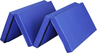 ZENOVA Gymnastics Mat Landing Mat 4 inch Thick Durable Practice Mats for Tumbling, Wrestling,Core Workouts