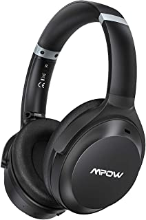 $44 » Mpow H12 IPO Active Noise Cancelling Headphones, Bluetooth Headphones Over Ear with Type C, CVC 8.0 Mic, Hi-Fi Deep Bass, ...