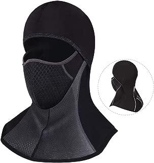 ROTTO バラクラバ 目出し帽 フェイスマスク バイク スキー サイクリング 厚 冬用 防寒 防水 黒