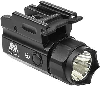 M1SURPLUS Tactical Compact Size STROBING LED Flashlight Kit w/Integral Quick Detach Mount/Fits H&k Hk VP9 VP40 P30L HK45 Handgun Pistols