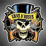 Skin 'Guns n Roses hip hop jazz hard rock hard metal pop funk sticker...