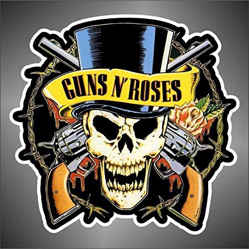 Skin Guns n Roses hip hop jazz hard rock hard metal pop funk sticker