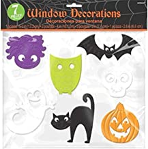 Amscan Hallo ween Silicone Window Gel Clings