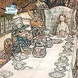 FWSAOT Jigsaw Puzzle Rompecabezas para Adultos Alice In Wonderland Tea Party Rompecabezas De 1000 Piezas