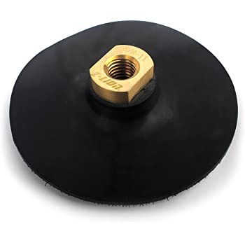 """22 Pieces 5/"""" Back Holder//Backer Pads for Diamond Polishing Pads 5//8/""""-11 Thread"""