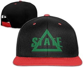 ADFWSD Alabama Crimson Tide Logo Hip-Hop Baseball Cap Red