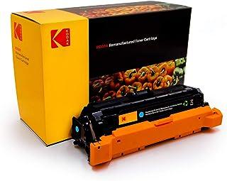 KODAK 504A CE251A Cyan Compatible Toner Catridge with HP printer