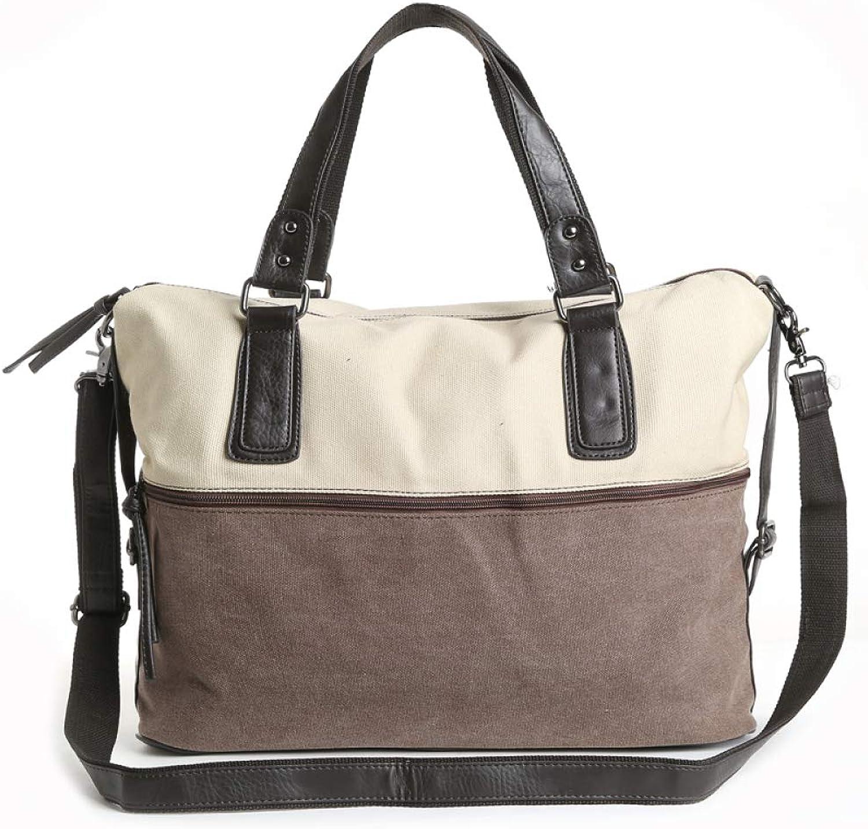 Ailihan Canvas Tasche Herren Damen Umhängetasche Umhängetasche Umhängetasche Messenger Bag Handtasche B07MXDPVMP  Fett und dünn 17cddf