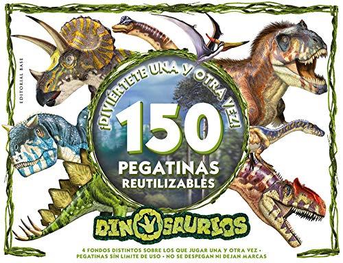 Dinosaurios. ¡Diviertete una y otra vez!: ¡150 pegatinas reutilizables!: 6