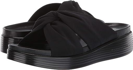 Black Crepe Elastic
