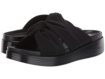 Donald J Pliner Freea (Black Crepe Elastic) Women