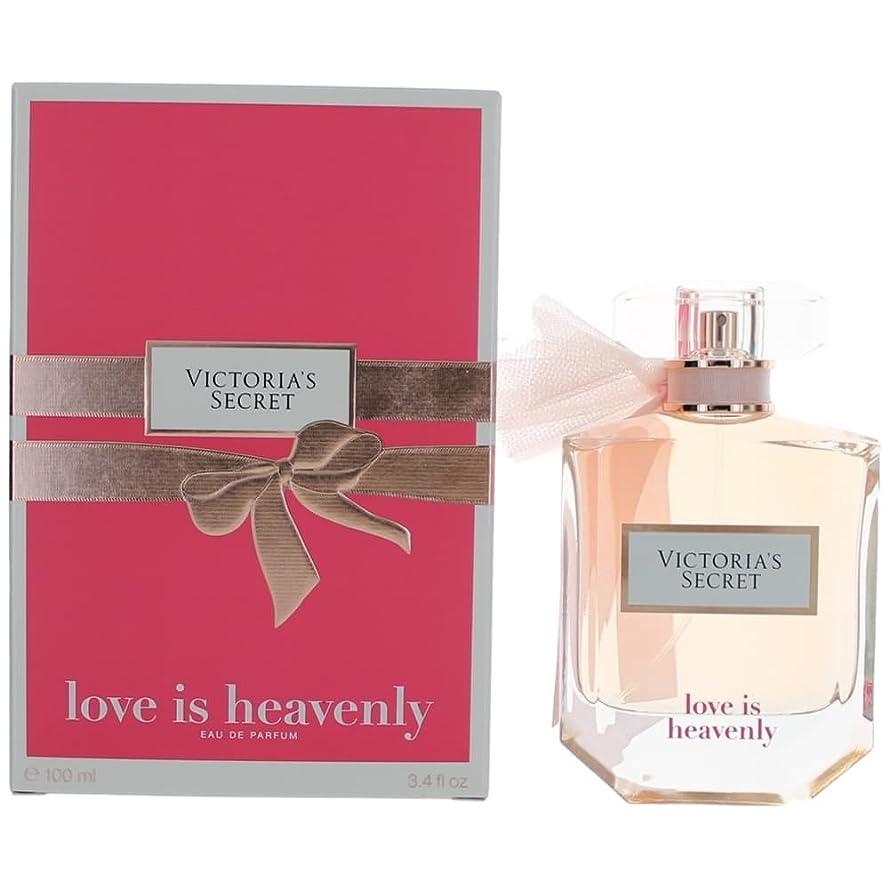 遅滞フォージカプセルVictoria's Secret Love is Heavenly 100ml/3.4oz Eau De Parfum EDP Spray for Women